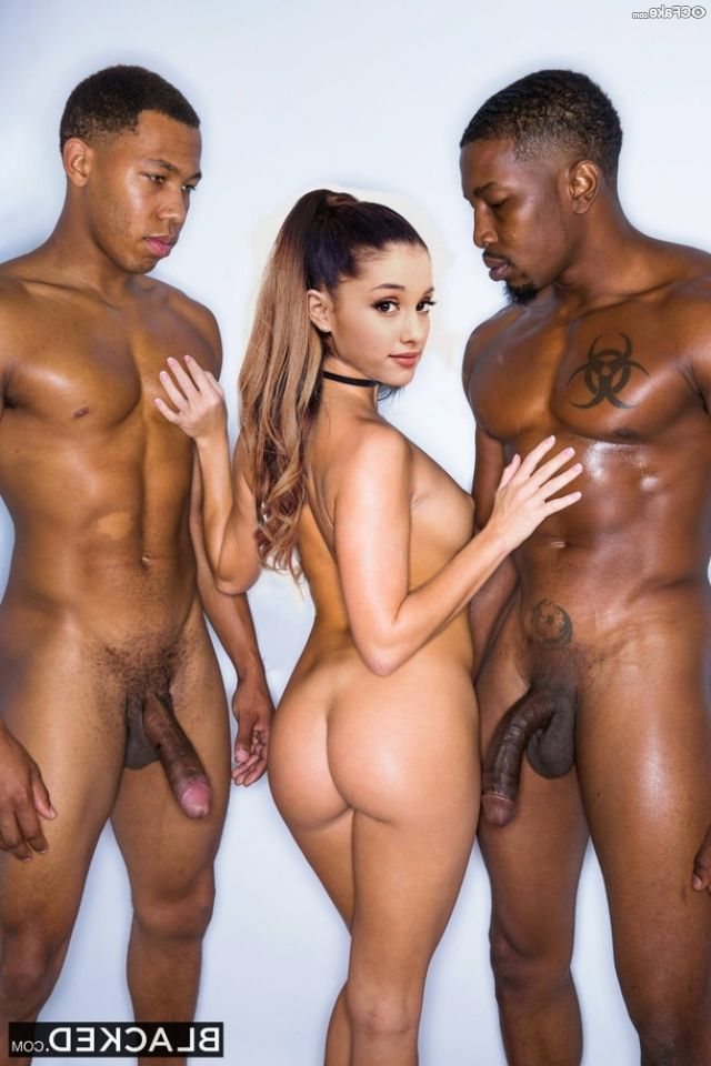 Ariana Grande Naked Exposing Hot Ass And Porn Collection 005