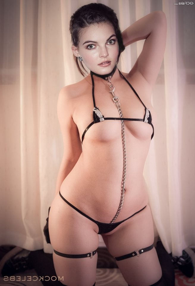 Camren Bicondova Nude Beautiful Body Shy 002