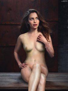 Emilia Clarke Nude And Fucking Pics 007