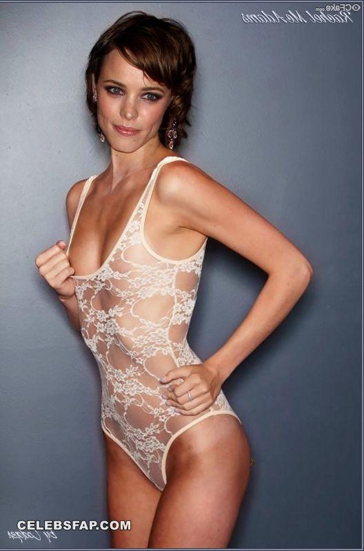 Rachel McAdams Nude Hardcore Interracial Sex Photos 007