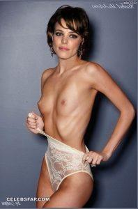 Rachel McAdams Nude Hardcore Interracial Sex Photos 008