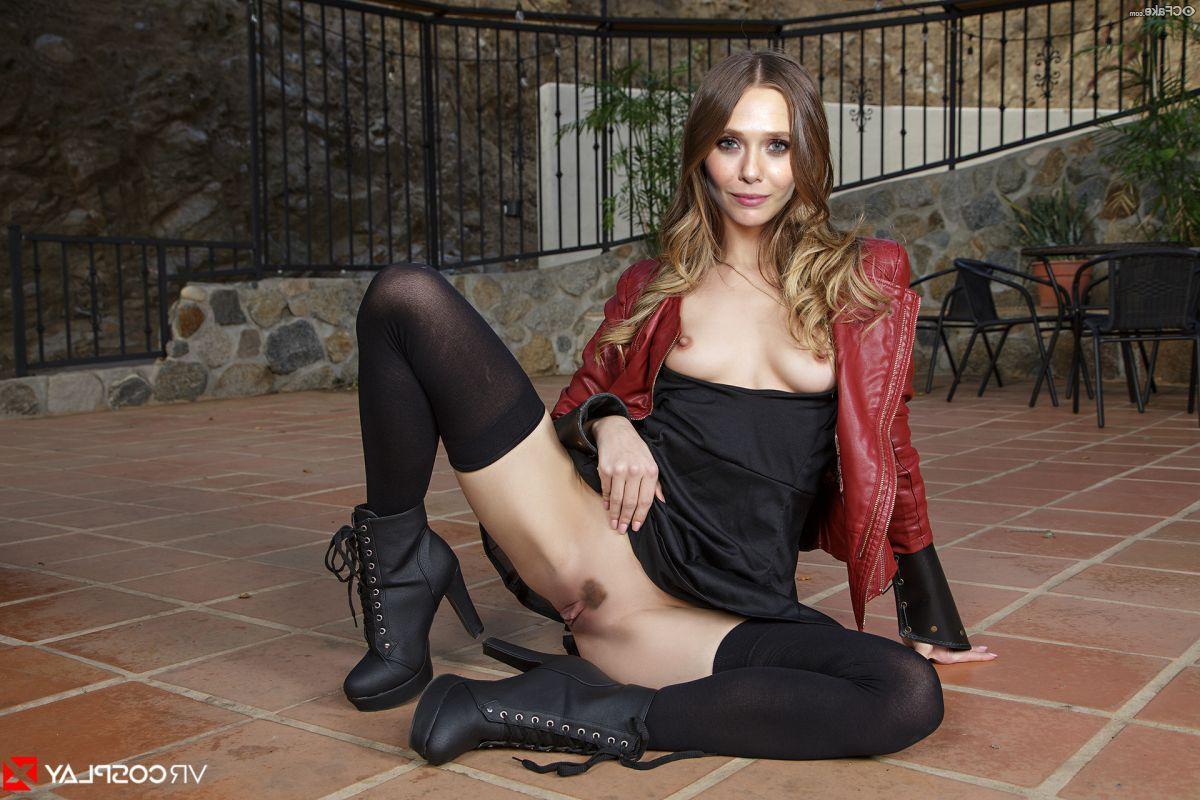 Elizabeth Olsen Nude 013