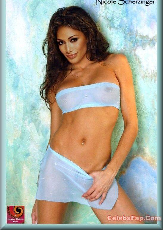 Nicole Scherzinger Nude Steaming Hot Photos Collection 003