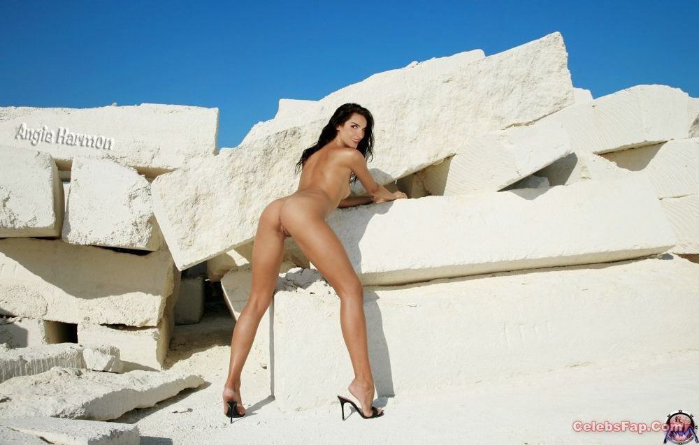 Angie Harmon Nude Exclusive Photo Collection 020