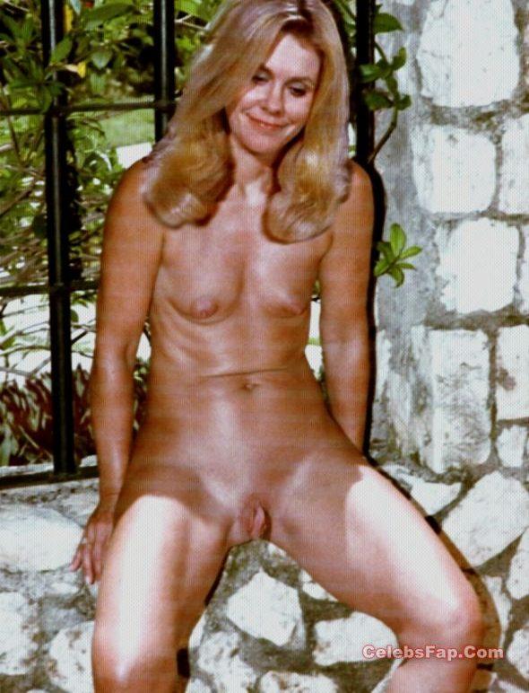 Classic Actress Elizabeth Montgomery Nude Photos Collection 004