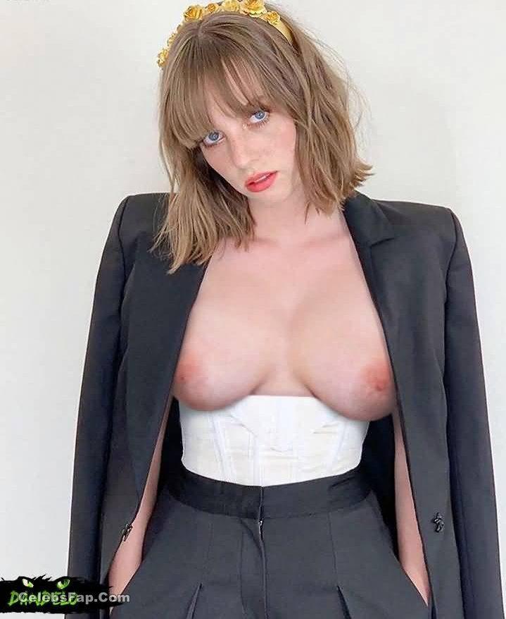 Maya Hawke Nude And Porn Photos Collection 003